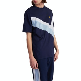 Lyle & Scott Archive Panel Kurzarm-T-Shirt - Navy