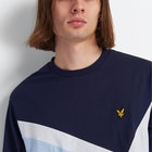 Lyle & Scott Archive Panel Kortermet t-skjorte
