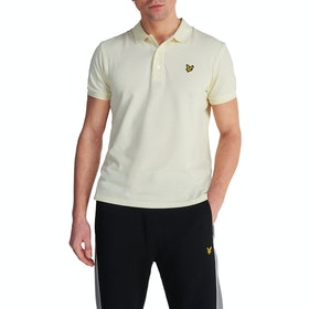 Lyle & Scott Vintage Plain Pique Polo-Shirt - Buttercream