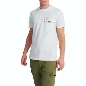 Lyle & Scott Casuals Chest Pocket Kurzarm-T-Shirt - White