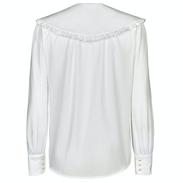 Troy London The Cape Collar Blouse Womens シャツ