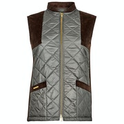Troy London The Country Quilted Gilet Womens Zateplená vesta