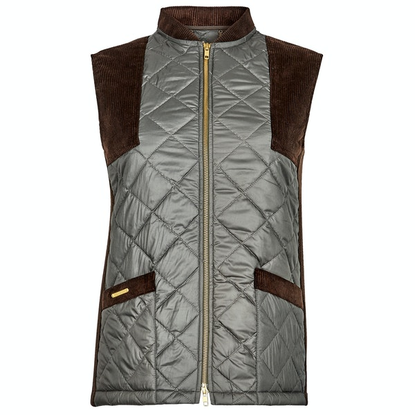 Troy London The Country Quilted Gilet Women's Gilet