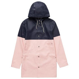 Stutterheim Stockholm Blocked Bunda - Navy