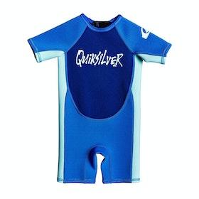 Combinaison de Surf Enfant Quiksilver 1.5 Syncro Toddler - Tafer Glicer Blue