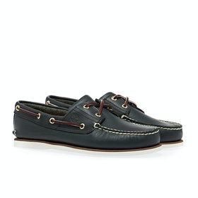 Dress Shoes Timberland Classic 2 Eye Boat - Blue
