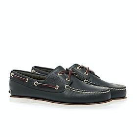 Timberland Classic 2 Eye Boat Dress Shoes - Blue