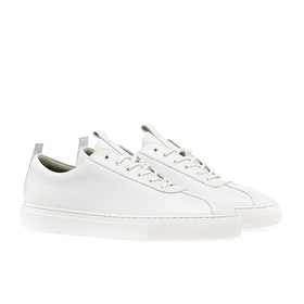 Grenson Vegan Sneaker 1 Shoes - White Vegan