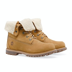 Сапоги Женщины Timberland Authentics Teddy Fleece - Wheat Nubuck