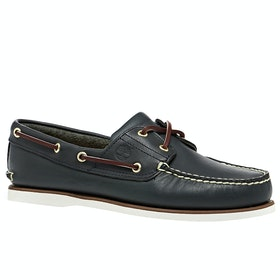 Timberland Classic 2 Eye Boat Dress Shoes - Blue