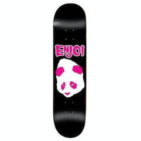Enjoi Don't Fit Hyb Skateboard Deck - Black Pink