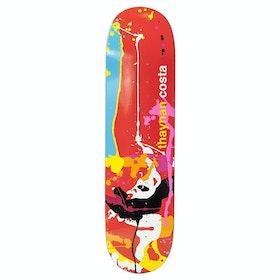 Enjoi Thaynan Splatter Panda R7 Skateboard Deck - Thaynan Costa