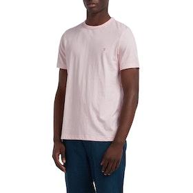 Farah Dennis Solid Short Sleeve T-Shirt - Cool Pink