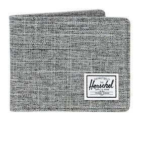 Herschel Roy Mens ウォレット - Raven Crosshatch
