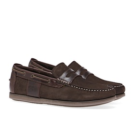 Barbour Keel Boat Men's Dress Shoes - Brown Nubuck