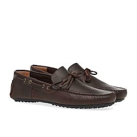 Barbour Eldon Dress Shoes - Dk Brown