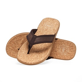 UGG Seaslide Sliders - Chestnut