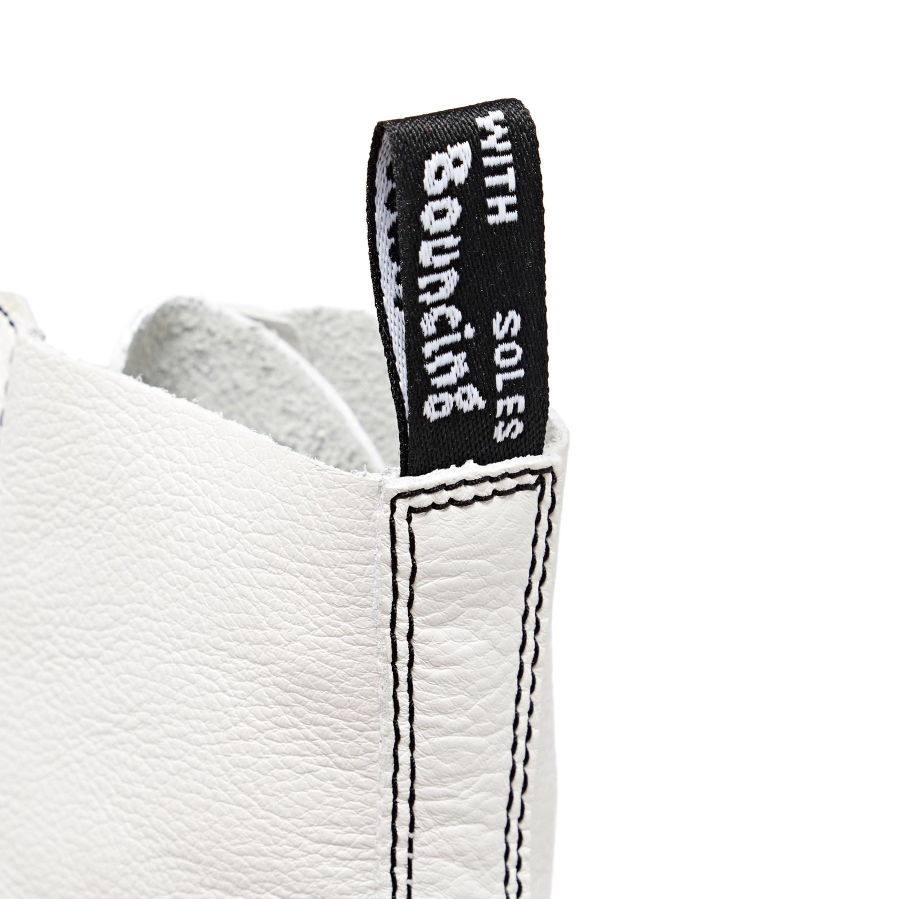 Dr Martens 1460 Pascal Black & White Dame Støvler Optical