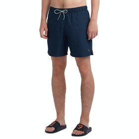 Farah Colbert Plain Men's Swim Shorts - Yale
