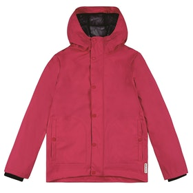 Hunter Original Light Rubberised Kids Jacket - Bright Pink Rbp