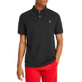 Timberland Millers River Polo Shirt - Black