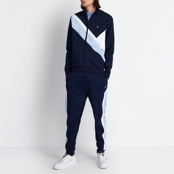 Lyle & Scott Archive Panel Funnel Neck Свитер