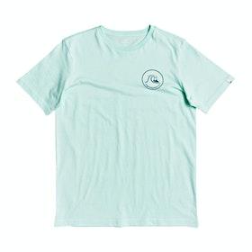 Quiksilver Close Call Boys Short Sleeve T-Shirt - Beach Glass