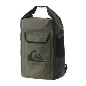 Quiksilver Sea Stash II Surf Backpack - Four Leaf Clover