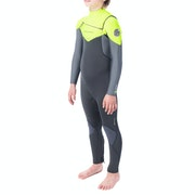 Rip Curl Junior Dawn Patrol 5/3 Chest Zip Kids Wetsuit
