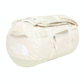 North Face Base Camp Small Duffle Bag - Vintage White TNF White