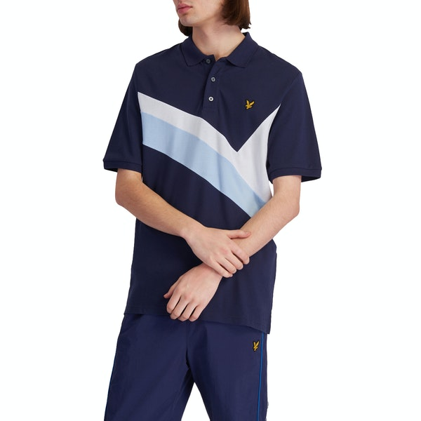Lyle & Scott Archive Panel Polo Shirt
