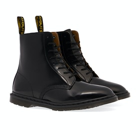 Dr Martens Winchester II Boots - Black Polished Smooth