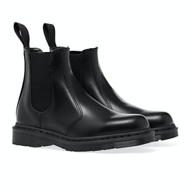 Dr Martens 2976 Mono Boots - Black Smooth