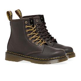 Dr Martens Junior 1460 Kid's Boots - Gaucho Wildhorse Lamper
