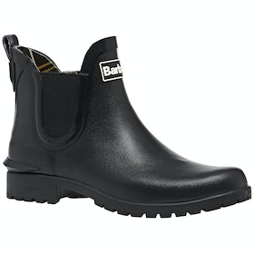 Barbour Wilton Ladies Wellies - Black