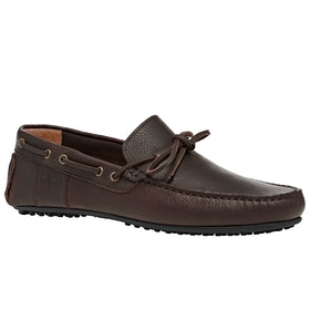 Barbour Eldon Dress Shoes - Dk Brown