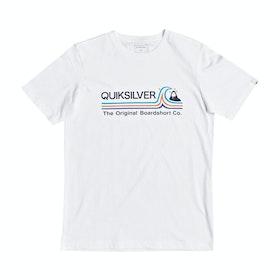 T-Shirt a Manica Corta Quiksilver Stone Cold Classic - White