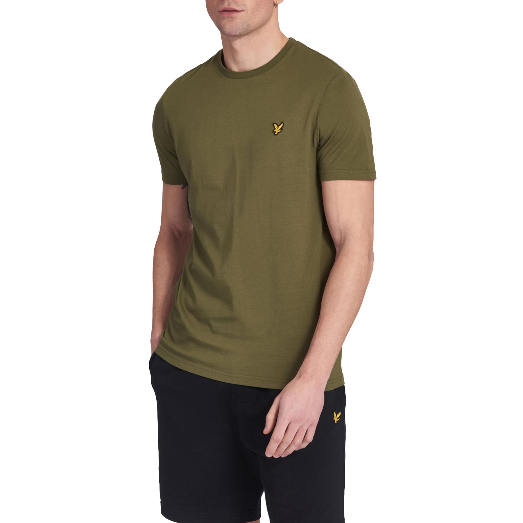 Green Lyle /& Scott Men/'s Crew T-Shirt