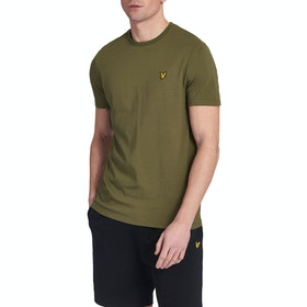 Lyle & Scott Vintage Plain Herren Kurzarm-T-Shirt - Green