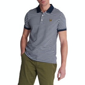 Lyle & Scott Vintage Stripe Polo-Shirt - Navy