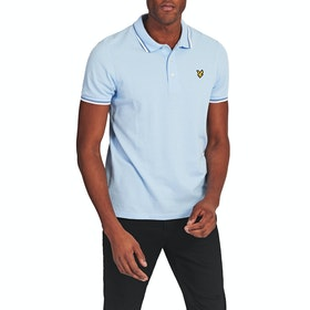 Lyle & Scott Vintage Tipped Polo-Shirt - White