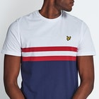 Lyle & Scott Vintage Yoke Stripe Short Sleeve T-Shirt