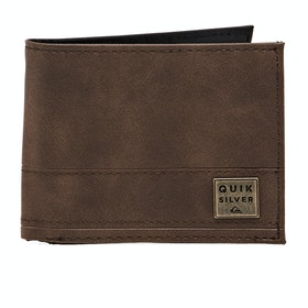 Quiksilver New Stitchy Wallet - Chocolate Brown