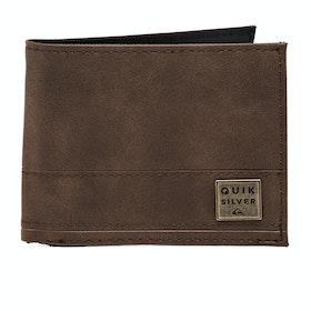 Portafoglio Quiksilver New Stitchy - Chocolate Brown