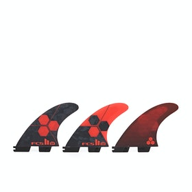 FCS II AM Performance Core Thruster Fin - Red
