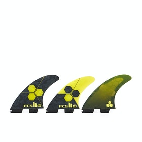 FCS II AM Performance Core Thruster Fin - Yellow Black