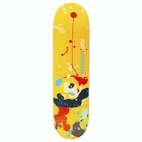 Enjoi Pilz Splatter Panda R7 Skateboard Deck - Jackson Pilz