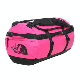 North Face Base Camp Small , Duffelbag - Pink TNF Black
