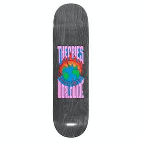 Theories Of Atlantis Worldwide 8 Inch Skateboard Deck - Black