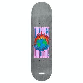 Theories Of Atlantis Worldwide 8 Inch Skateboard Deck - Grey